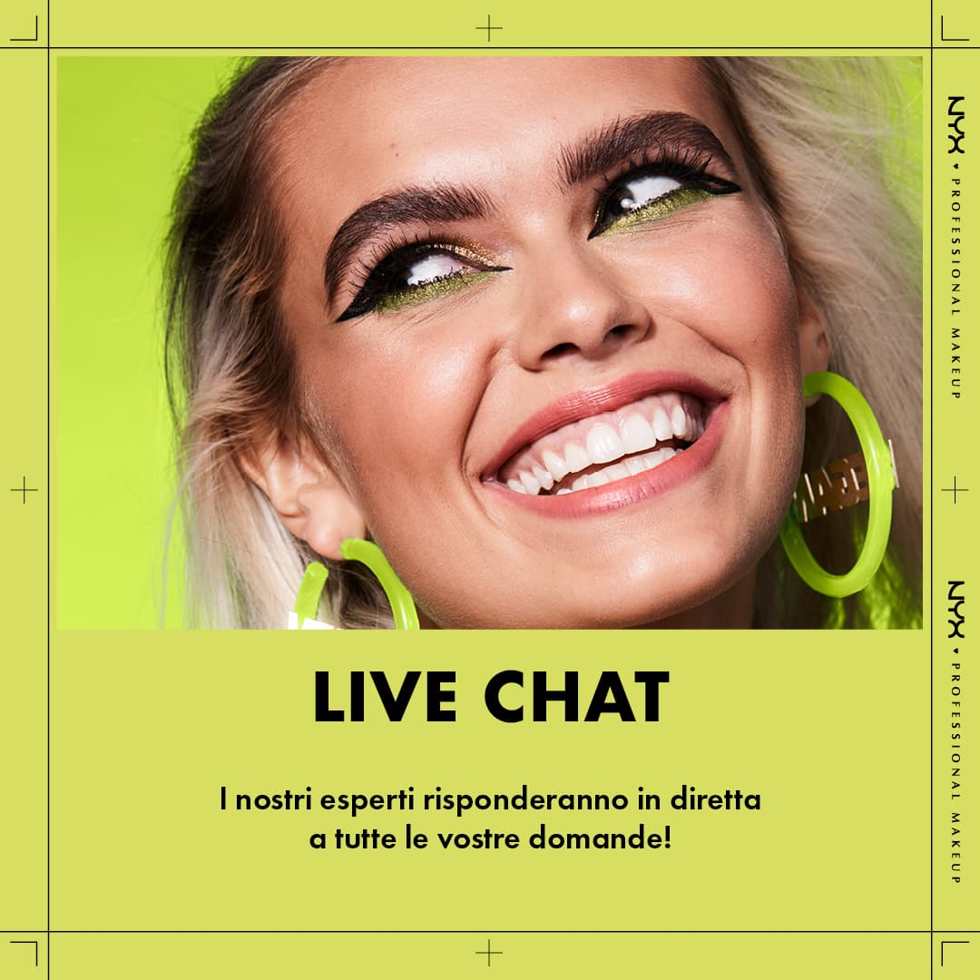 Banner Live Chat NYX
